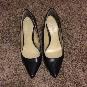 Black Ralph Lauren heels